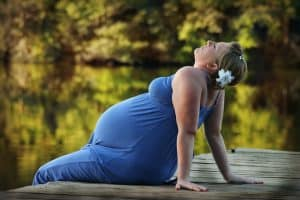 אישה בהריון