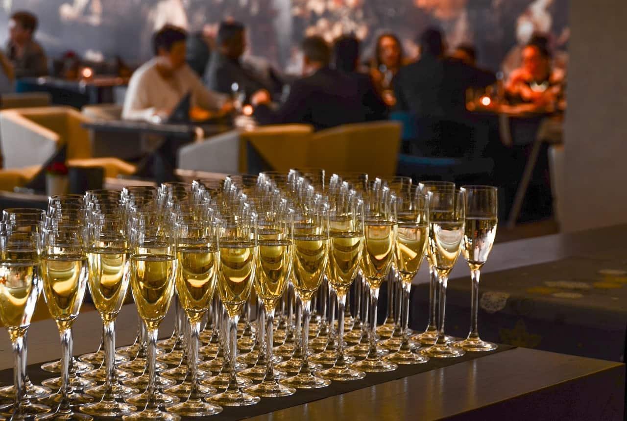 כוסות של שמפניה