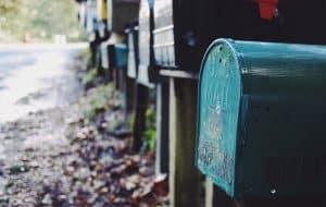 תיבת דואר לא מסומנת