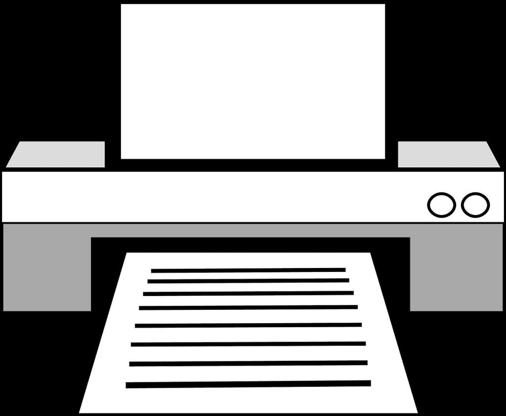 הדפסה רגילה